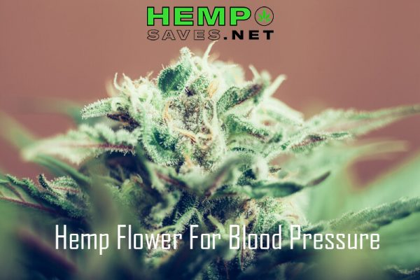 Hemp Flower For Blood Pressure