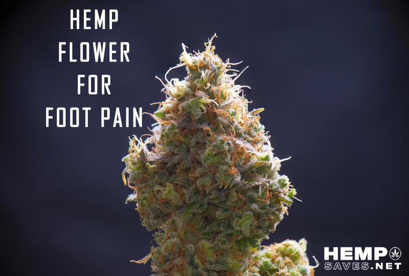 Hemp Flower For Foot Pain