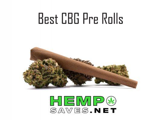 Best CBG Hemp Pre Rolls