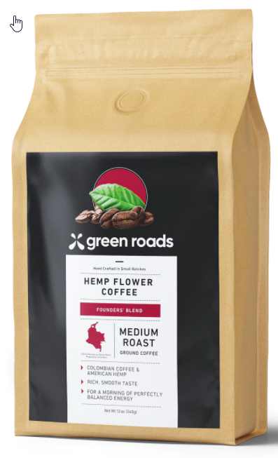 green roads cbd coffee