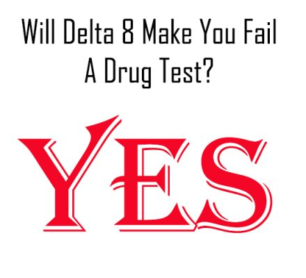 Yes- Delta 8 Will Make You Fail A Drug Test